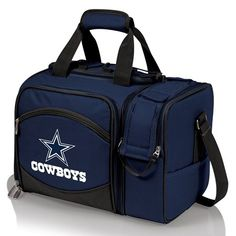 The Dallas Cowboys Malibu Picnic Cooler Tote is the most convenient go-anywhere picnic pack you can find with deluxe service for 2.
