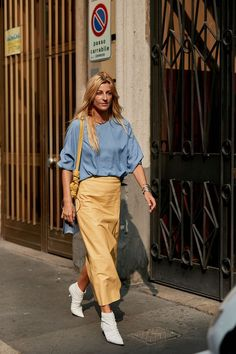 """37 Really """"Extra"""" Street Style Looks Straight From Milan Fashion Week"""