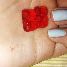 Ursinho fini transparente🐻Gummi bear#ursinhofini#feitoamao#manualidades#trabalhomanual #artesanato#artesa#artes#cor#transparente #laranja#doce#amo #mini#miniaturas#handicraft#handmade#candy#miniature#ilove #gummibears#hobby #diy#diniartismini