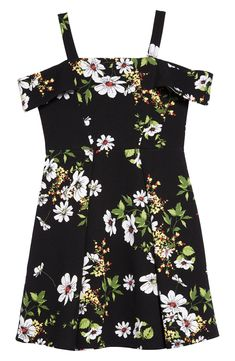 online shopping for Soprano Cold Shoulder Skater Dress (Big Girls) from top store. See new offer for Soprano Cold Shoulder Skater Dress (Big Girls) Tween Party Dresses, Girls Dresses Tween, Dresses For Tweens, Tween Girls, Tween Fashion, Women's Summer Fashion, Tween Mode, Girl Outfits, Cute Outfits