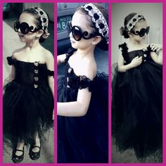 Hand made tutu dress by me... for my one and only Cassie =)
