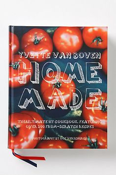 pretty enough to be a coffee table book and yummy enough to be a cooking staple :)