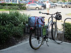 """This morning I needed to make a trip to the grocery store for provisions. The store is a couple of miles from my house. Less than two years ago, there was only one option: I drove my van to the store. There was no need to think twice about it. I had several bicycles then, but there was no way I would have considered riding on the city streets. Here are my Before Cycling Savvy (BCS) and After Cycling Savvy (ACS) """"grocery getters"""" side by side.  Here is my current grocery-getter set u..."""