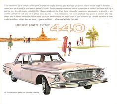 1962 Dodge Dart 440 Four Door Sedan