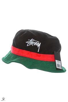 514bb00794f Kapelusz Stussy Stock Terry Bucket Hat Green