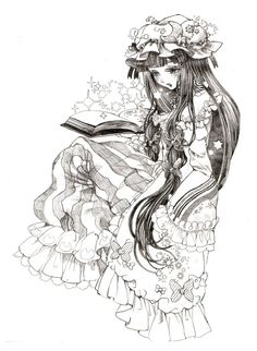 Patchouli Knowledge Artist: Yayuyo