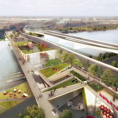 Plans are in place for the stunning 11th Street Bridge Park, a planned green crossing in Washington, D.C. designed by OMA and OLIN. Click image for full story and visit the slowottawa.ca boards >> http://www.pinterest.com/slowottawa/boards/