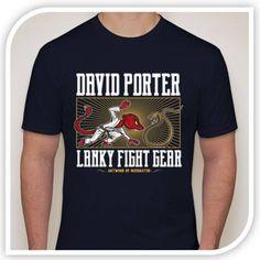 Lanky Fight Gear - David Porter Signature Shirt - Pre-Sale