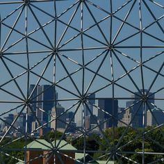 View of the city from inside the Biosphere. Montreal, Most Popular Instagram, Travel Magazines, Images, Louvre, Architecture, City, Building, Instagram Posts