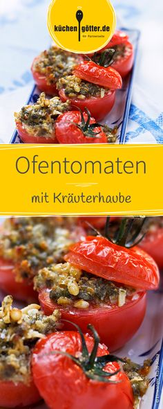 Schnelles Rezept für raffiniert gefüllte Tomaten. Lauwarm oder kalt genießbar!
