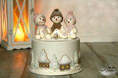 Snehuliaci torta, Autorka: Lorna, Tortyodmamy.sk