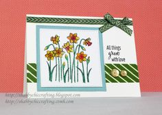 CTMH A Little Note Floral Everyday card