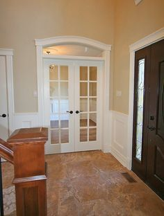 French Doors Interior With Transom   Google Search