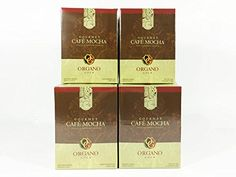 4 Boxes of Organo Gold Ganoderma Gourmet - Gourmet Cafe Mocha (15 sachets per box) ** Want to know more, click on the image.