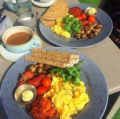 What better way to start your day Swords, Dublin, Cobb Salad, Brunch, Healthy Eating, Breakfast, Food, Eating Healthy, Morning Coffee