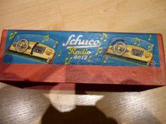 SCHUCO-AUTO-RADIO-4012-1952-Original-im-Karton  Wert 400 €
