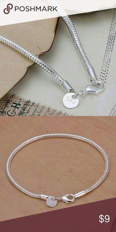 .925 sterling silver bracelet 925 sterling silver bracelet mine Jewelry Bracelets