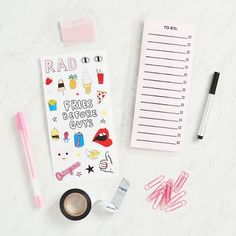 This agenda starter pack from Ban.do includes everything you need to have the perfect planner.<br><br>Includes the following:<br>• Pouch: 6 in. x 10 in.<br>• Snap-in to do list: 3.0625 in. x