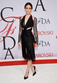 Emmy Rossum - prêmio do CFDA