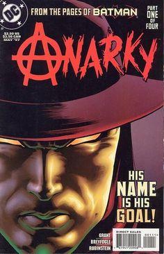 Publication history of Anarky Superman, Batman Art, Comic Book Covers, Comic Books, Jervis Tetch, Dc Comics, Wonder Woman, The 5th Of November, The Villain