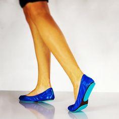 These Tieks were made for walking #Cobalt