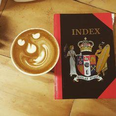 The coffee and da tab book.  RAGLAN ROAST