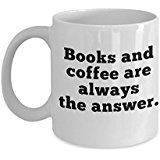 Best Unique Gift Mug for Readers and Book Lovers, Perfect Idea for Coffee Drinkers, Top Idea to Include in a Birthday or Christmas Gift Basket -Book