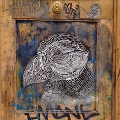 Monkey Bird Crew #streetart