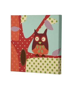 Made With Love - Canvas Picture - Owl