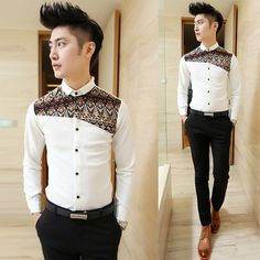 30 Best Formal Shirts for Men With Latest Brands & Designs – Men's style, accessories, mens fashion trends 2020 African Shirts For Men, African Clothing For Men, Mens Clothing Styles, Mens Designer Shirts, Designer Clothes For Men, Gents Shirts, Asian Style Dress, Formal Shirts For Men, Casual Shirts