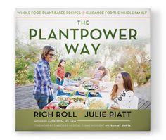 The Plant Power Way Book | A Strawbery Pie | Rich Roll & Julie Piatt | The Tao of Dana