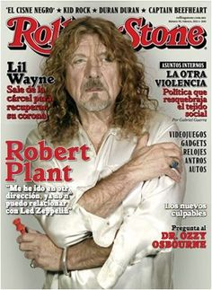 Robert Plant of Led Zeppelin - Rolling Stone Magazine Kid Rock, Best Rock Bands, Cool Bands, Captain Beefheart, Steve Ray Vaughan, Rolling Stone Magazine Cover, Robert Plant Led Zeppelin, Boys Don't Cry, Posters