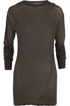Isabel Marant Xipa cotton-jersey top   NET-A-PORTER