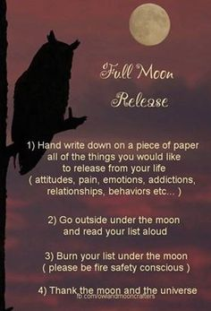 new moon rituals for june - Google Search