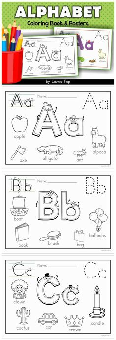 rubymariepeters | Instagram ~ itsrubyymarie |  itsrubymarie.com Kids Education, Childhood Education, Alphabet For Toddlers, Teaching Toddlers Letters, Teaching Toddlers To Read, Toddler Alphabet, Abc For Kids, Abc Coloring Pages, Coloring Pages For Toddlers Printables