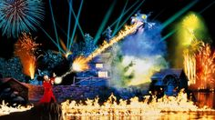 Fantasmic sights and sounds...