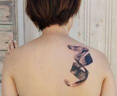 Jemka tattoo Piercing Tattoo, Piercings, Brush Strokes, Tattoo Artists, Watercolor Tattoo, Tatoos, Body Art, Tattoo Designs, Kiwi