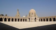 Egipto El Cairo -La Mezquita de Ahmad Ibn Tulun.
