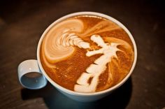 Barista COFFEE Art ~ jrobblee / Flickr _____________________________ Reposted by Dr. Veronica Lee, DNP (Depew/Buffalo, NY, US)