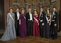 The Swedish Royals shared a new portrait on the occasion of New Years, with this note: The Swedish Royal Family wishes everyone a Happy New Year! (The picture was taken by Jonas Ekströmer on 10th December when the  Swedish Royal Family attend the 2015 Nobel Prize Banquet at Stockholm City Hall.)