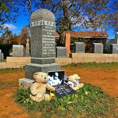 Grabmal des (zunächst) nicht identifizieren Kindes unter den Opfern der Titanic-Katastrophe. Viele Opfer sind hier in Halifax beerdigt. #halifax #novascotia #titanic