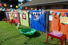My daughters Carnival Party- carnival games.