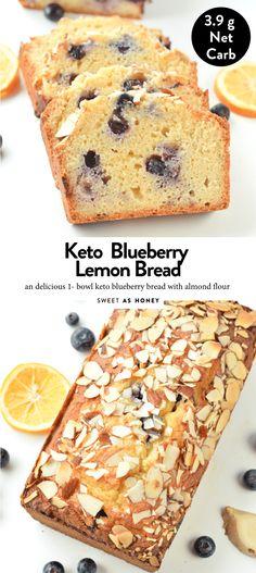 Keto blueberry bread with coconut flour – Sweetashoney – HFLC Recipes Easy Keto Bread Recipe, Best Keto Bread, Easy Cake Recipes, Dessert Recipes, Low Gi Bread, Recipe Tasty, Paleo Bread, Bread Recipes, Coconut Flour Cakes