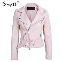 af1039e0bb Casual faux leather jacket Women  fashion  clothing  shoes  accessories   womensclothing