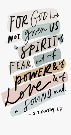 2 Timothy 17 bible verse bible bibleverse scripture timothy newtestament fear power love faith truth is part of Bible verses quotes - Best Bible Verses, Bible Verses Quotes, Jesus Quotes, Bible Scriptures, Faith Quotes, Inspiring Bible Verses, Motivational Bible Verses, Bible Verses Of Encouragement, Bible Verses About Happiness