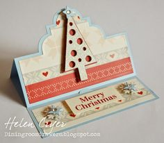 The Dining Room Drawers: The Playful Collection by Stephanie Barnard for Sizzix - Flip-its & Stand-Ups Cards