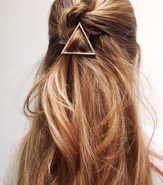 Was Haarspangen ausmachen können... #Sommer #Frisur #Haare #Styling