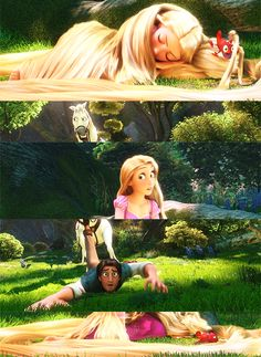Tangled. Maximus was about to make his own day. Aren't we all glad Rapunzel interfered? :D