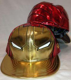 f9ee6e30a96 New Era 59Fifty Ironman 3 Ironman Fitted Cap Superhero Hats