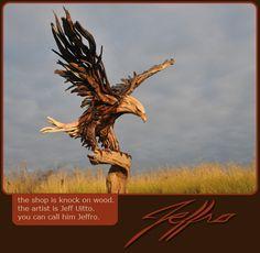 title landing  ~~  Jeff Uitto (Jeffro)  Knock on Wood